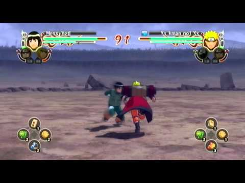 Naruto Storm 2 : Lee Vs Naruto [1080p]