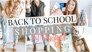 Back to School Shopping at Target (and $500 Giveaway!) | Kendra Atkins