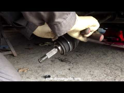 Replacing CV Joint Boot On A Nissan Micra (2nd generation. 1992-2002)