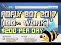 Adfly Bot 2017 + Auto SKIP [100% Work] $200 Per Day