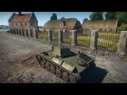 Наглядное сравнение графики и физики World of Tanks и War Thunder
