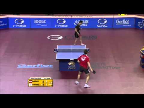 Qatar Open 2015 Highlights: Robert Gardos Vs Chuang Chih Yuan (1/4 Final)