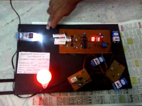 Automatic Room Light Controller with Didirectional Visitor Counter