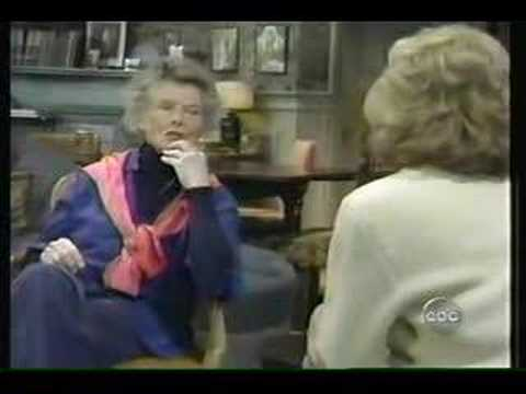Katharine Hepburn with Barbara Walters Video