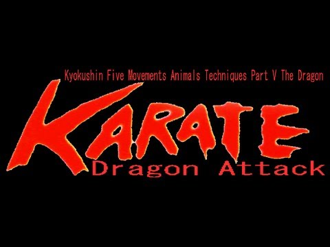 KYOKUSHIN RYU Five Movements Animals Techniques Part V The Dragon Image 1
