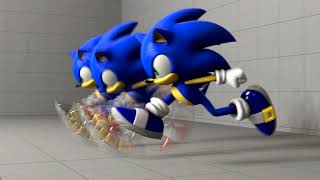(SFM) Random Sonic Running animation