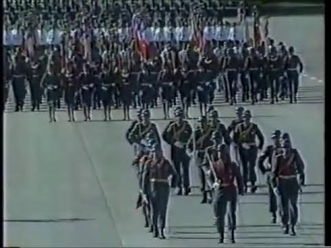 Gran Parada Militar 1990 (video completo)