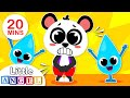 Baby Panda Goes to Potty   Healthy Habits Songs for Kids   Nursery Rhymes by Little Angel