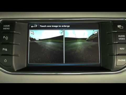 Обзор Range Rover Evoque — Мультимедиа, освещение, круговой обзор