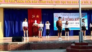 [Nhảy hiện đại]Bùa yêu (Mi ganta) và Bboom bboom - Trường THCS và THPT Nghi Sơn