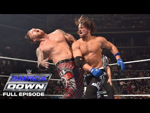 WWE SmackDown Full Episode,  31 March 2016 - SmackDown Before WrestleMania