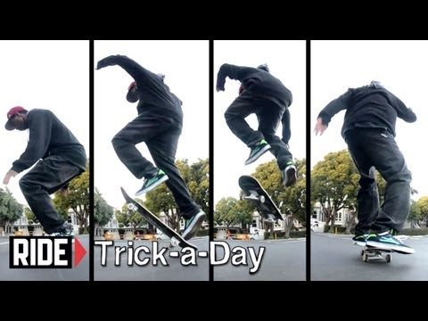 How-To Skateboarding: Fakie Big Spin with Lavar McBride