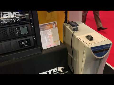 ISE 2019: SurgeX Demos Stand Alone Battery Backup Systems Designed for Rack Mounting