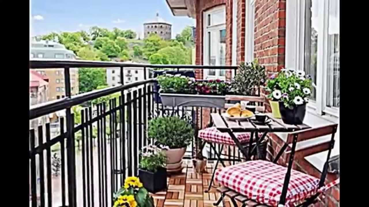15 уютных идей обустройства балконов.