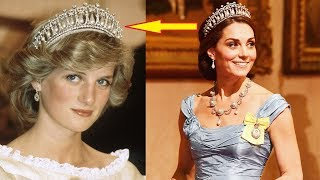 When Kate Middleton Put On A Certain Tiara, Her Nod To Princess Diana Got A Huge Reaction
