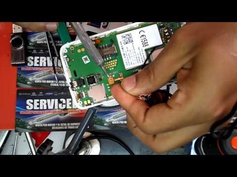 reparacion alcatel ot 4010a no prende , repair button power...