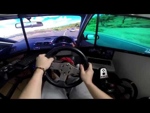 Forza Horizon 3   Civic Type-R Turbo (Steering Lag Problem G27) TripleScreen   Watch my Playlists !