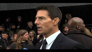 MISSION: IMPOSSIBLE - GHOST PROTOCOL Interviews With Tom Cruise, Paula Patton, Brad Bird And More!