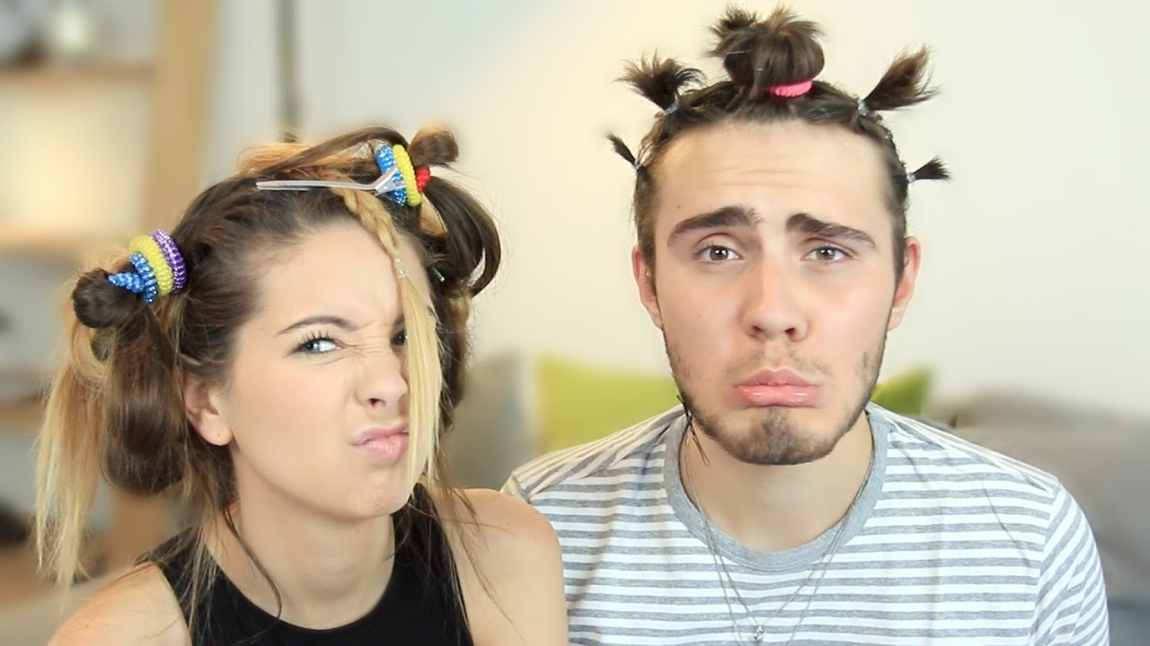 Zoella Does My Hair.. - YouTube