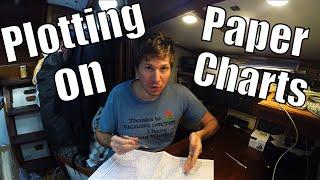 Plotting on Paper Charts DIY [4K]   Sailing Wisdom