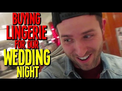 Buying Lingerie for Our Wedding Night - Day 46