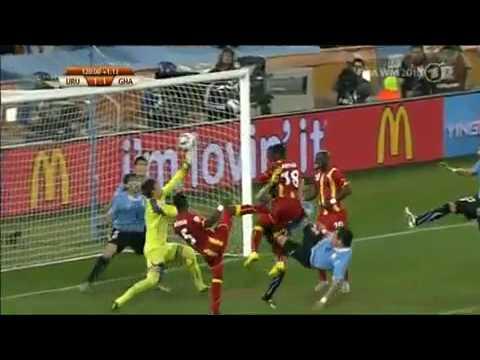 Luis Suarez Hand Ball cheating And Penalty Kicks By Gyan And Ghana