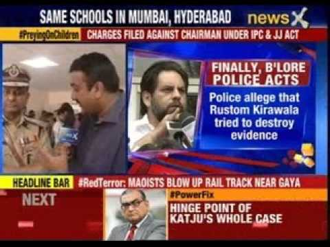 Bangalore Rape Case: Police Arrests The Chairman Of Vibgyor School video