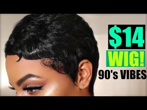 I CUT MY HAIR! SIKE! IT'S A $14 WIG! 90's VIBES OUTRE DUBY PIXIE