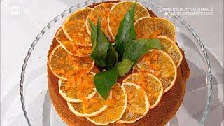 Chiffon cake all'arancia - E' sempre Mezzogiorno 13/01/2021