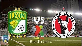 Leon - Xolos 1ra Parte - Fútbol en vivo | Live soccer.