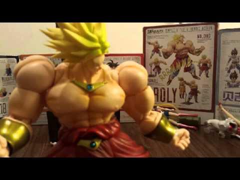 Goku Vs Broly Stop Motion video