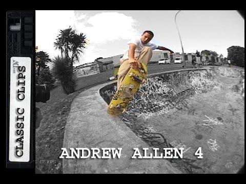 Andrew Allen Skateboarding Classic Clips #246 Part 4