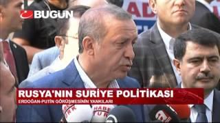 """ERDOĞAN'DAN ABD'YE """"PYD VE YPG"""" ÇIKIŞI"""