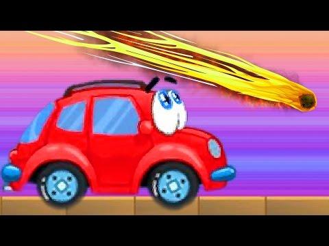 Мультики про машинку Вилли игровое видео про красную машинку Wheelie веселое видео для малышей