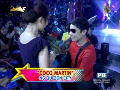 Coco Martin double gets shrieks at 'Kalokalike' finals