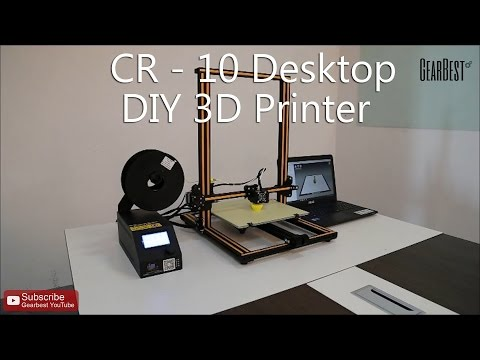 CR-10 3D Desktop DIY Printer - Gearbest.com