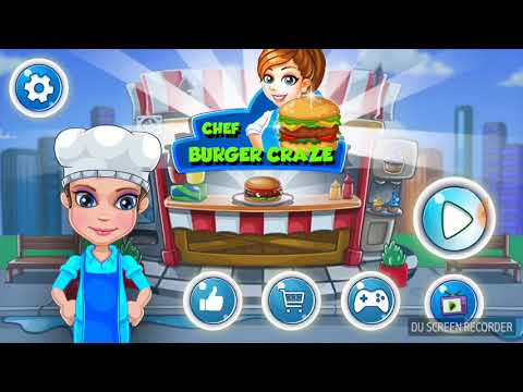 Burger cooking craze game For kids Play fun with burger cooking game