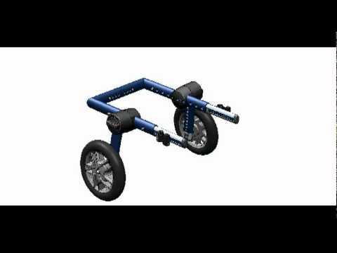 Nueva silla de ruedas para perro youtube for Sillas para discapacitados