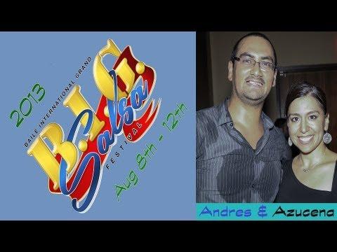 BIG Salsa Festival 2013   Andres Giraldo (Salsa Y Control) & Azucena Perez (Jazzy)   Social Dancing