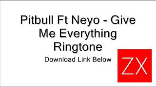 download lagu Pitbull - Give Me Everything Ringtone gratis