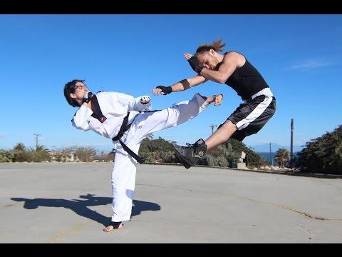 テコンドーとボクシングのハイクオリティな闘いアクションPV