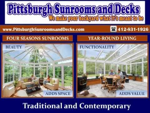 Pittsburgh Sunrooms and Decks-Quality Sunrooms & Deck Builders in Pittsburgh, PA