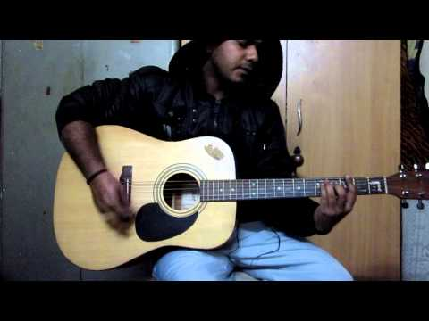 O Mere Dil Ke Chain A Guitar Cover By Mohit Malhotra