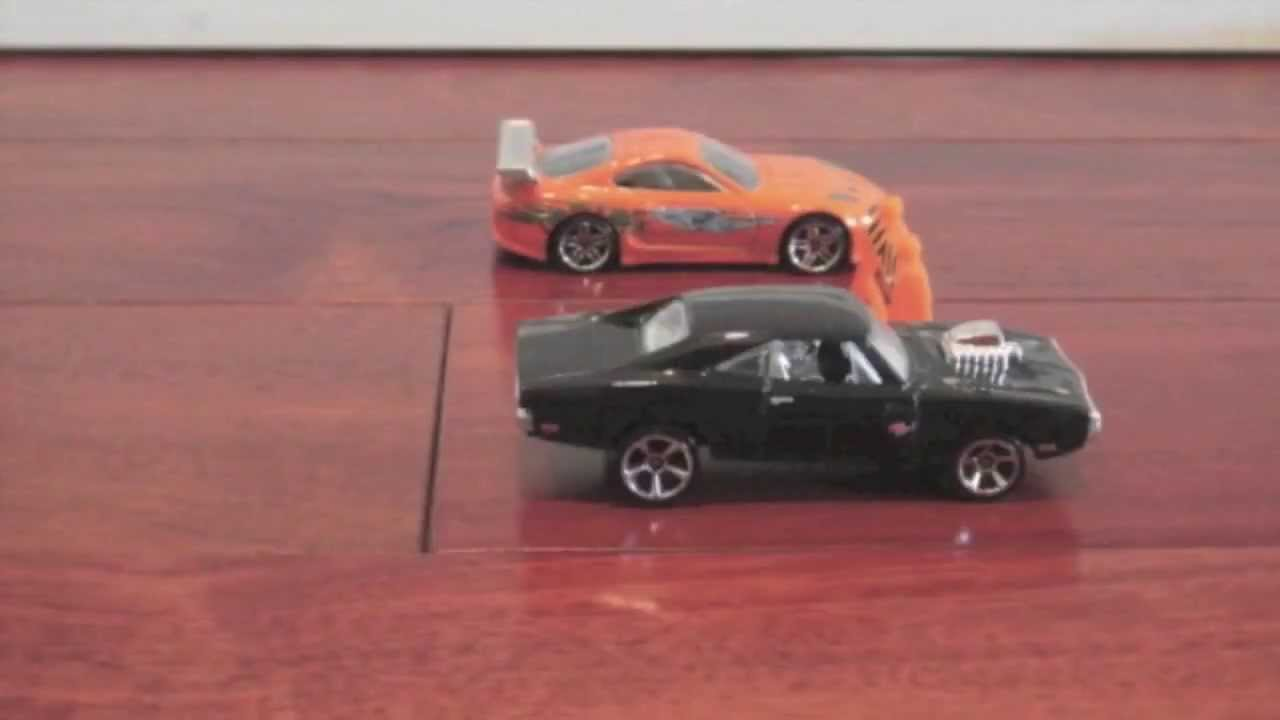 Supra Vs Charger >> The Fast and Furious Drag Race - Brian vs Dom - Toyota Supra vs Dodge Charger R/T - YouTube