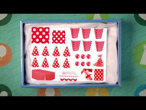 Polka Dots Birthdays Party Supplies | Polka Dots Party Supplies