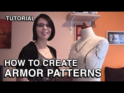 How to create Patterns for Armor Costumes