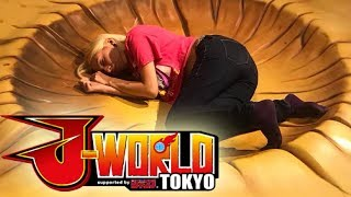 DRAGON BALL Z THEME PARK - J-WORLD!!! - Tokyo Vlog Day 2 Part 2