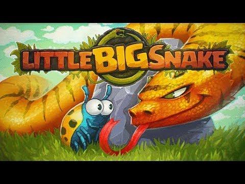 Маленькая Большая Змея Little Big Snake Змея №1 в первом же обзоре! Детское игровое Видео