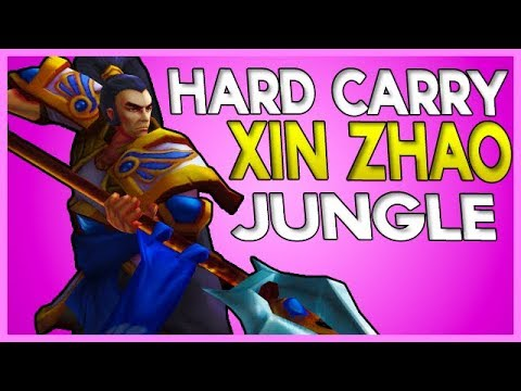 HOW TO HARD CARRY WITH THE MOST BROKEN JUNGLER IN SEASON 8 - Xin Zhao Jungle