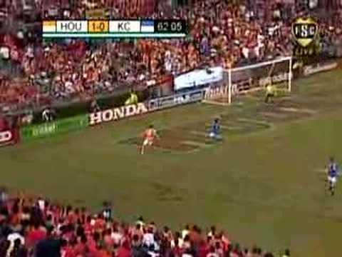 11/10/07: Kansas City Wizards @ Houston Dynamo | Highlights Video